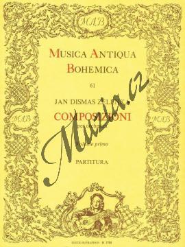 Zelenka Jan Dismas | Composizioni per orchestra 1 - Partitura | Noty pro orchestr - H3788.jpg