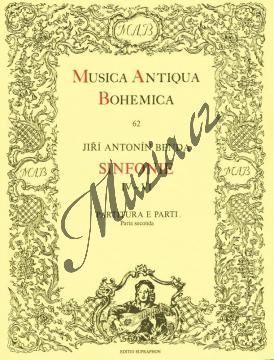 Benda Jiří Antonín | Sinfonie 4-6 | Partitura a party - Noty pro orchestr - H3789.jpg