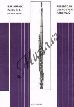Hurník Ilja | Partita in A per flauto e piano | Noty na příčnou flétnu - H3819.jpg
