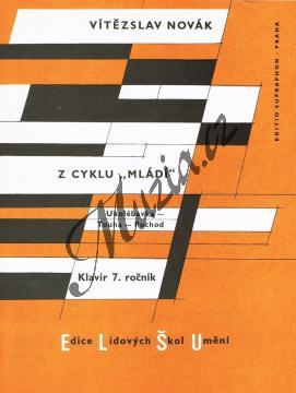 Novák Vítězslav | Z klavírního cyklu  Mládí  op. 55 | Noty na klavír - H3902.jpg