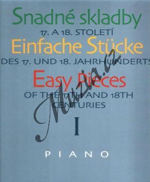 Album | Snadné skladby 17. a 18. století - 1. díl | Noty na klavír - H4014.jpg