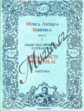 Michna Adam z Otradovic | Missa Sancti Wenceslai | Partitura - Noty pro sbor - H4035.jpg