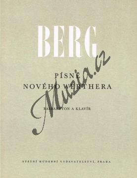 Berg Josef | Písně nového Werthera (7 písní pro basbaryton a klavír) | Noty pro sólový zpěv - H4038.jpg