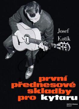 Kotík Josef | První přednesové skladby pro kytaru | Noty na kytaru - H4117.jpg