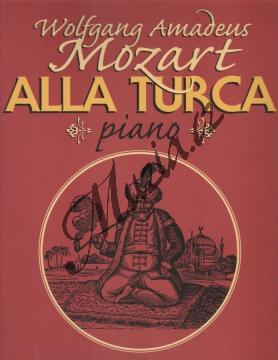 Mozart Wolfgang Amadeus | Alla Turca (pochod ze sonáty A dur, K.V. 331) | Noty na klavír - H4120.jpg