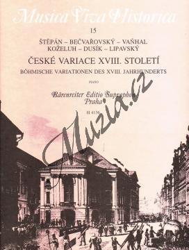 Album | České variace XVIII. století | Noty na klavír - H4136.jpg