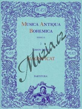 Brixi Šimon   Magnificat   Partitura - Noty pro sbor - H4151.jpg
