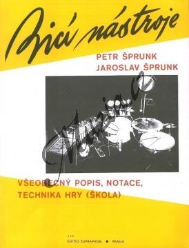 Šprunk Petr, Šprunk Jaroslav | Bicí nástroje (všeobecný popis, notace a technika hry) | Noty - H416.jpg