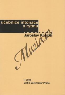 Kofroň Jaroslav | Učebnice intonace a rytmu - Učebnice | Hudební teorie - H4228.jpg