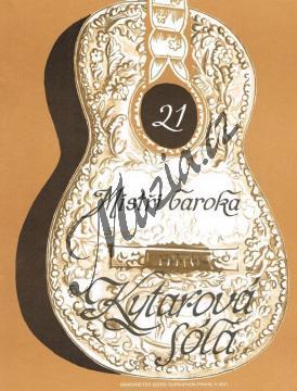 Album | Mistři baroka | Noty na kytaru - H4241.jpg