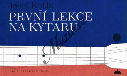 Kotík Josef | První lekce na kytaru | Noty na kytaru - H4309.jpg
