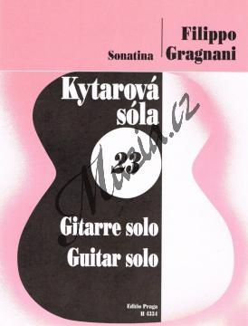 Gragnani Filippo | Sonatina op. 6 | Noty na kytaru - H4334.jpg