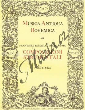 Tůma František Ignác Antonín | Composizioni strumentali | Partitura - Noty na housle - H4376.jpg