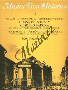 Album | Houslové sonáty českého baroka | Noty na housle - H4405.jpg