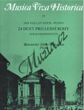 Stich-Punto Jan Václav | 24 duet pro lesní rohy | Noty na lesní roh - H4422.jpg
