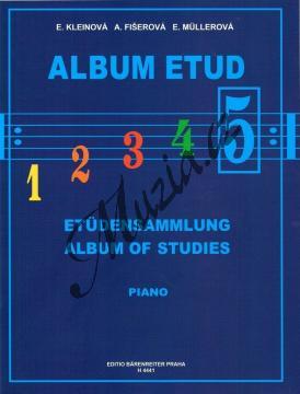 Album | Album etud 5. díl | Noty na klavír - H4441.jpg