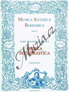 Plánický Josef Antonín | Opella ecclesiastica (12 duchovních kantát) | Partitura - Noty pro sbor - H4496.jpg