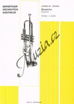 Francl Jaroslav | Sonatina pro trubku a klavír | Noty na trombón - H4517.jpg