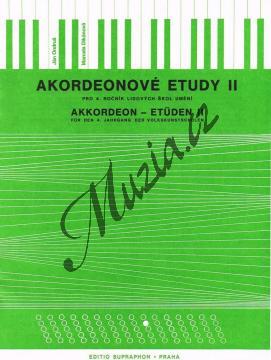 Ondruš Ján, Dikánová Marcela | Akordeonové etudy - 2. díl | Noty na akordeon - H4558.jpg