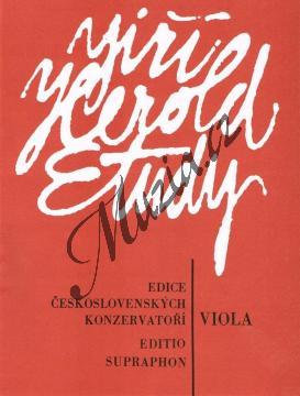 Herold Jiří | Etudy pro violu | Noty na violu - H4638.jpg