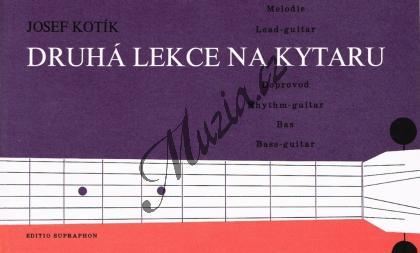 Kotík Josef | Druhá lekce na kytaru (Melodie - doprovod - bas) | Noty na kytaru - H4654.jpg