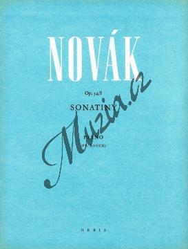 Novák Vítězslav | Sonatiny op. 54/I | Noty na klavír - H475.jpg