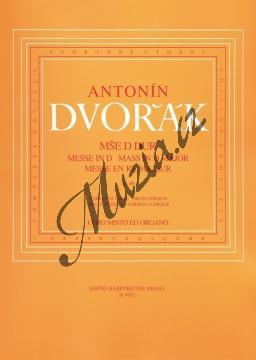 Dvořák Antonín | Mše D dur op. 86 (varhanní verze) | Noty pro sbor - H4952.jpg