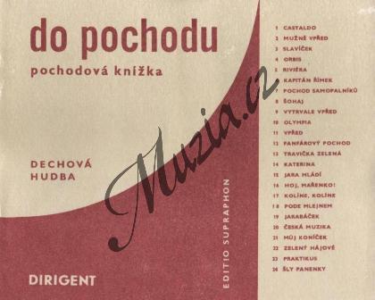Album | Do pochodu (pochodová knížka) | Set partů - Noty pro dechovou hudbu - H4953.jpg