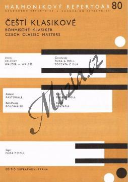 Album | Čeští klasikové | Noty na akordeon - H4954.jpg