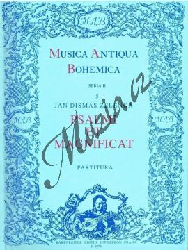 Zelenka Jan Dismas | Psalmi et magnificat | Partitura - Noty pro sbor - H4974.jpg