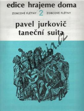 Jurkovič Pavel | Taneční suita | Noty na zobcovou flétnu - H4983.jpg