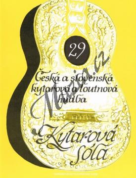Album | Česká a slovenská kytarová a loutnová hudba | Noty na kytaru - H5132.jpg