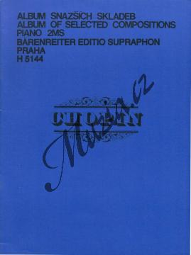 Chopin Fryderyk | Album snazších skladeb | Noty na klavír - H5144.jpg