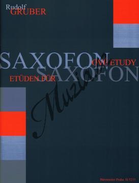 Gruber Rudolf | Saxofonové etudy | Noty na saxofon - H5215.jpg