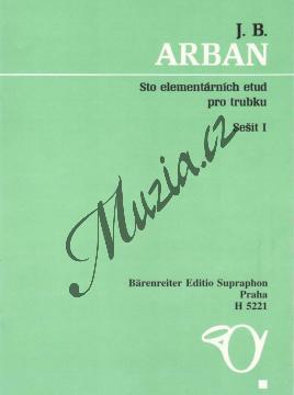 Arban Jean-Baptiste | Sto elementárních etud, sešit 1 / 1-50 | Noty na trubku - H5221.jpg