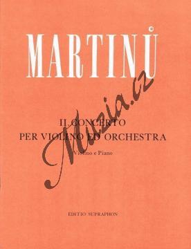 Martinů Bohuslav   Koncert pro housle a orchestr č. 2   Klavírní výtah - Noty na housle - H5286.jpg