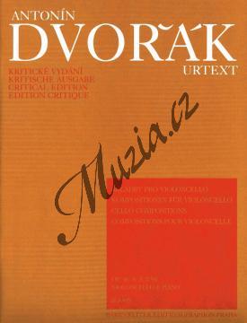 Dvořák Antonín | Skladby pro violoncello - Partitura a party | Noty na violoncello - H5305.jpg