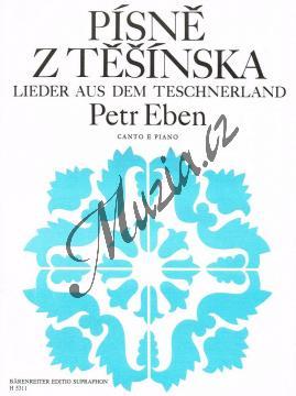 Eben Petr | Písně z Těšínska | Noty pro sólový zpěv - H5311.jpg