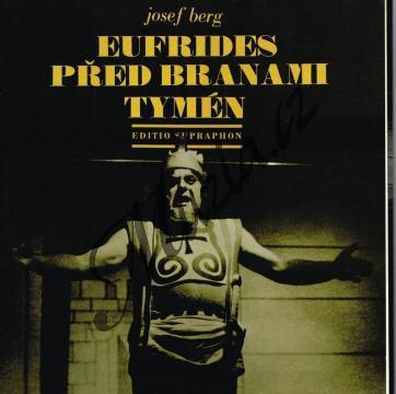 Berg Josef | Eufrides před branami Tymén (opera o třech dějstvích na autorův text) + gramofonová deska | Partitura - Noty - H5411.jpg