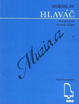 Hlaváč Miroslav   Poetické etudy 2   Noty na klavír - H5527.jpg