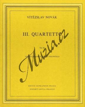 Novák Vítězslav | Smyčcový kvartet č. 3 op. 66 | Partitura a party - Noty pro smyčcový kvartet - H5542.jpg