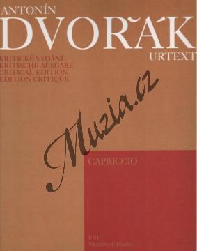 Dvořák Antonín | Capriccio (koncertní rondo pro housle a klavír) - Partitura a party | Noty na housle - H5543.jpg