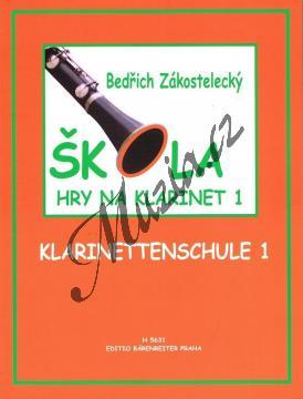 Zákostelecký Bedřich | Škola hry na klarinet - 1. díl | Noty na klarinet - H5631.jpg