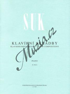 Suk Josef | Klavírní skladby op. 7 | Noty na klavír - H5766.jpg