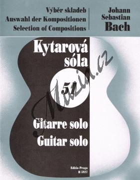 Bach Johann Sebastian | Výběr skladeb | Noty na kytaru - H5927.jpg
