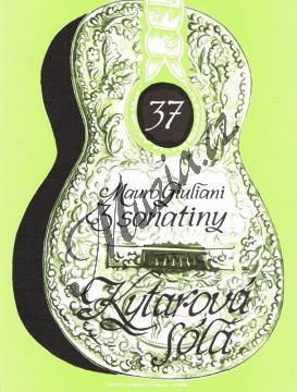 Giuliani Mauro | Tři sonatiny | Noty na kytaru - H5956.jpg
