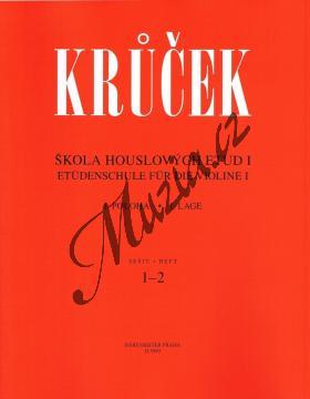 Krůček Václav | Škola houslových etud - 1. díl | Noty na housle - H5993.jpg