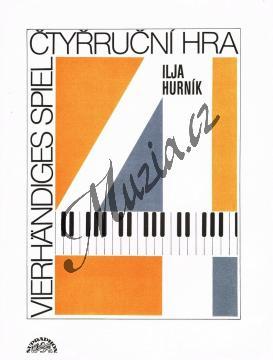 Hurník Ilja | Čtyřruční hra | Noty na klavír - H6155.jpg