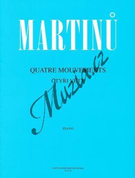 Martinů Bohuslav | Čtyři věty (Quatre Mouvements) | Noty na klavír - H6156.jpg