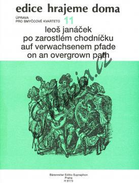 Janáček Leoš | Po zarostlém chodníčku | Partitura a party - Noty pro smyčcový kvartet - H6173.jpg